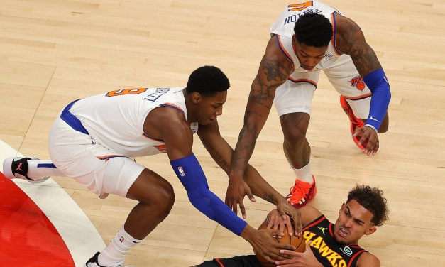 Knicks Ground Hawks in Thrilling, Come-From-Behind Road Win