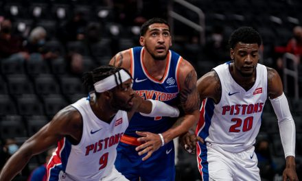 Knicks Demolish Pistons, Rise Above .500