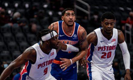Knicks Demolish Pistons, Rise Above .500