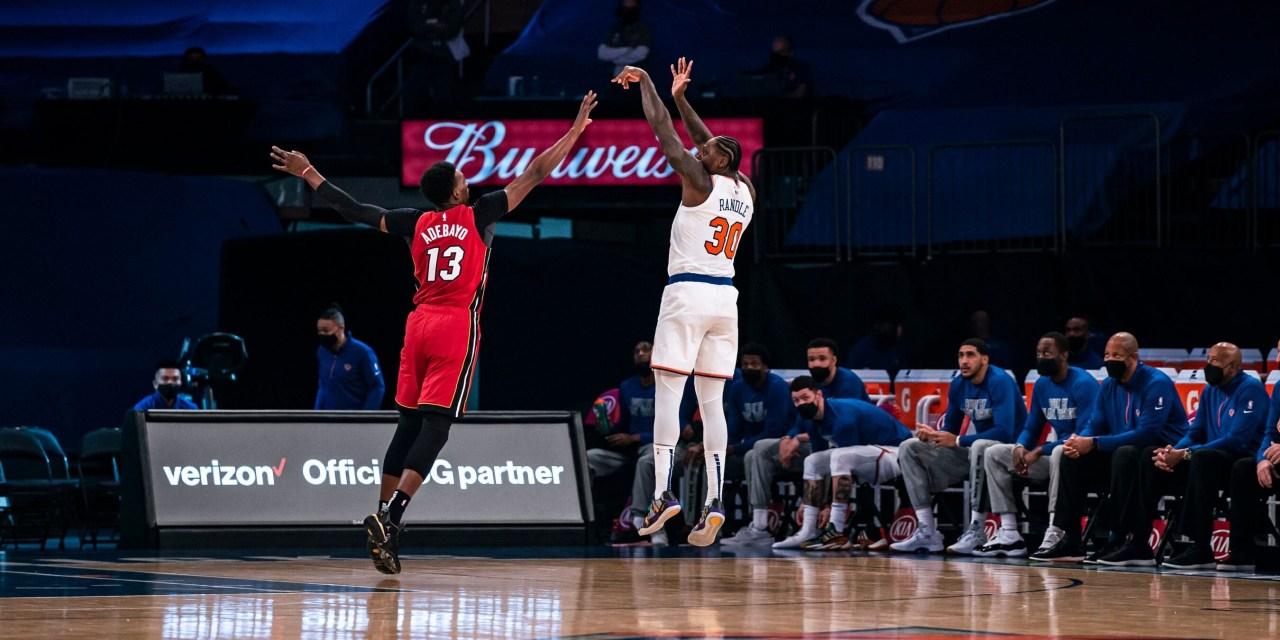 Butler, Adebayo Key as Heat Topple Knicks in Matinee