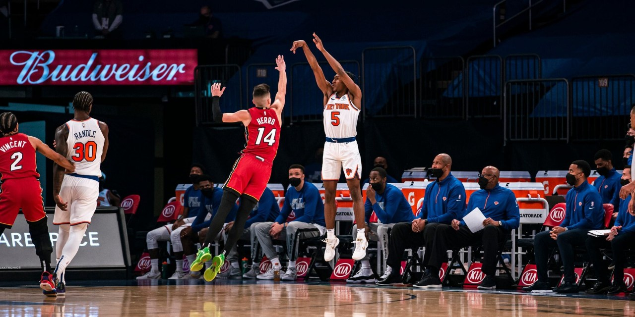 Knicks Head to Miami For Second Game of Two-Game Series