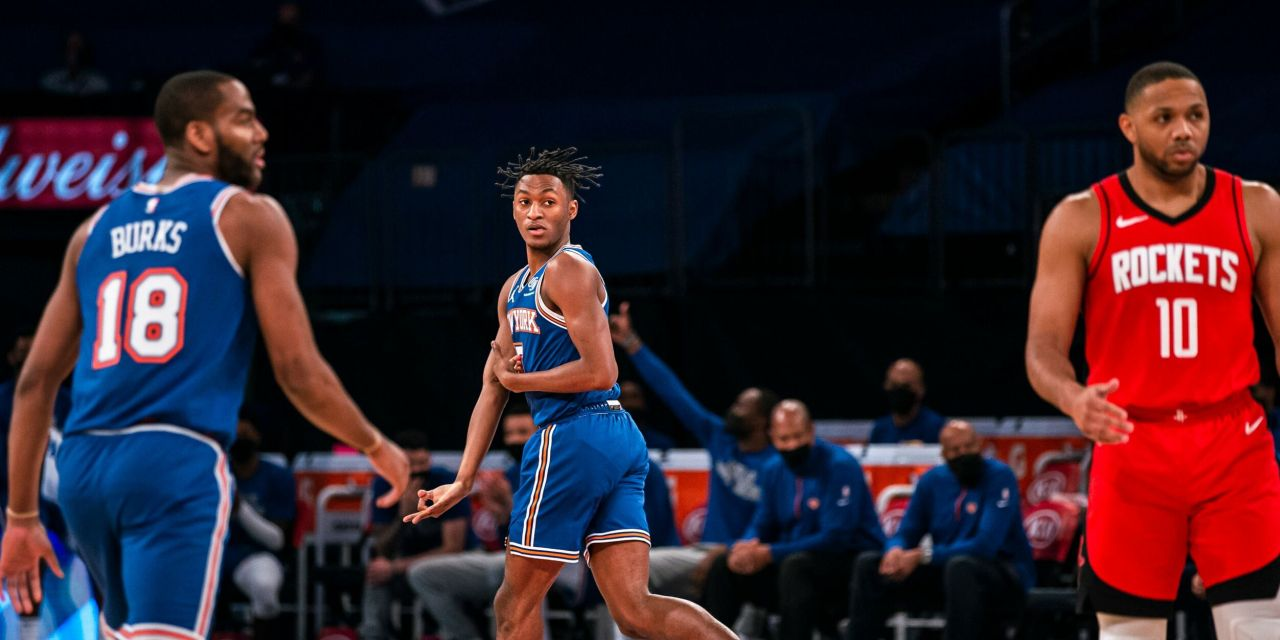 Quickley, Rose and Second Unit Shine as Knicks Best Rockets