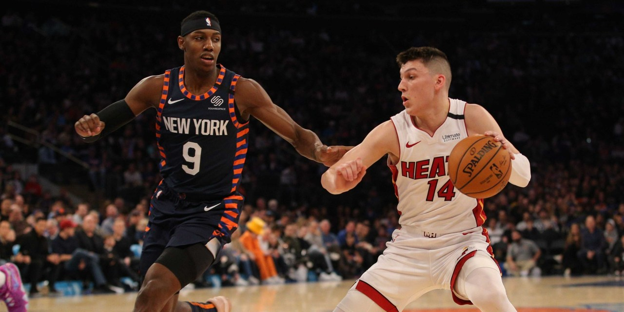 Knicks Look For Third Straight Win With Heat Visiting MSG on Super Bowl Sunday