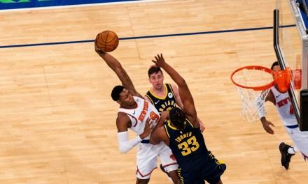 Knicks Rally to Beat Pacers Behind Julius Randle, RJ Barrett