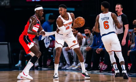 Julius Randle Torments the Wizards in Knicks Blowout Win