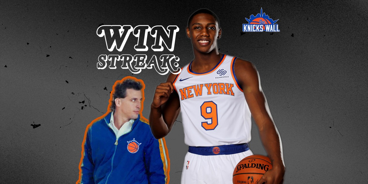 The Knicks Wall Podcast: Nine-Game Winning Streak!