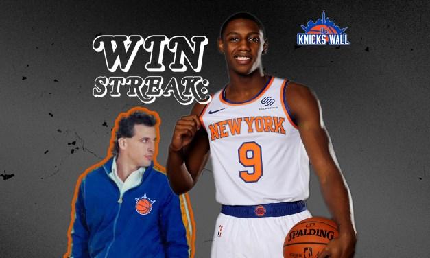 The Knicks Wall Podcast: Nine-Game Winning Streak!