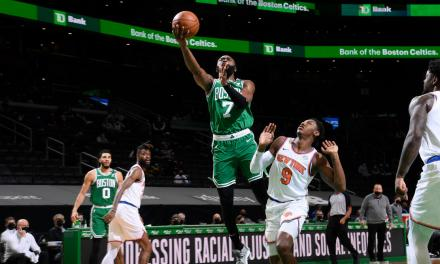 RJ Barrett Catches Fire, But Knicks Fall Short in Boston