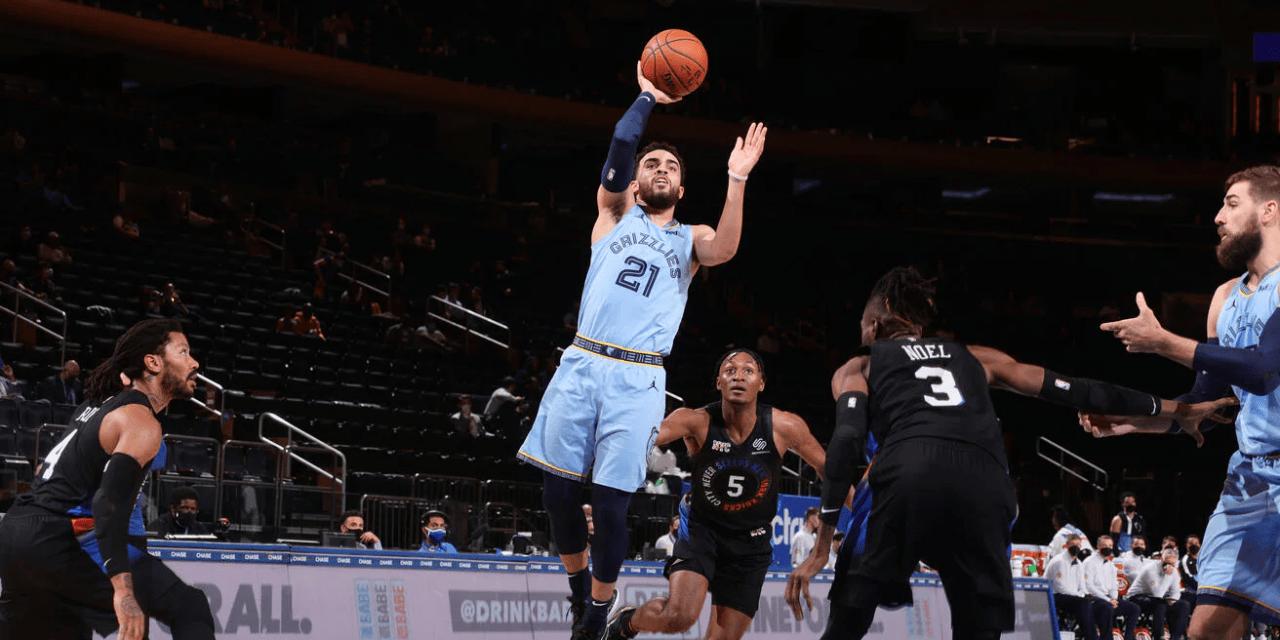 RJ Barrett Wills Knicks Comeback, Conquering Grizzlies in Overtime