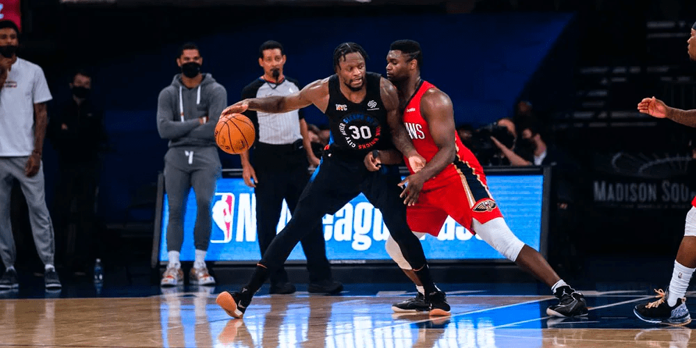 Randle, Knicks Overcome Pelicans Offense to Win Sixth Straight Game