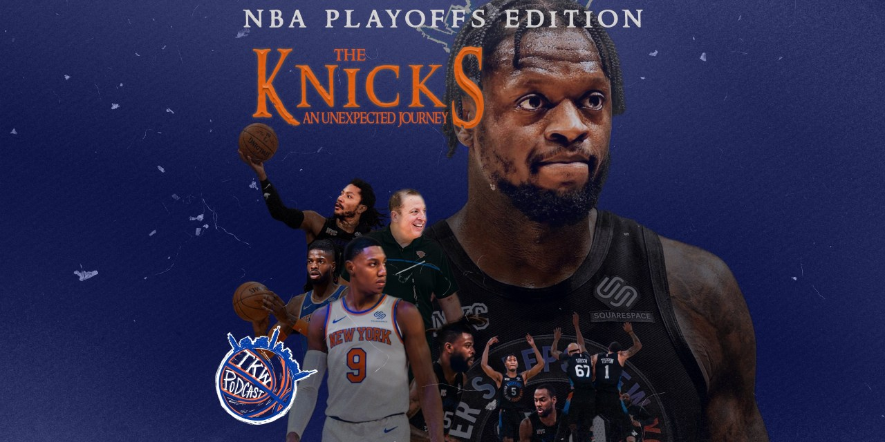 The Knicks Wall Podcast: Knicks Clinch the Fourth Seed!