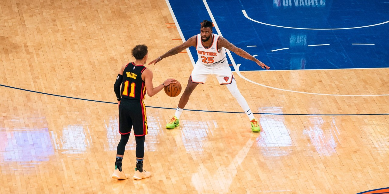Breaking Down the Knicks' Sloppy Game 1 Pick-and-Roll Defense vs. Hawks