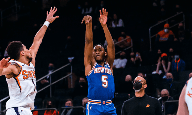 Immanuel Quickley Preaches Value in Deeper Three-Ball for Knicks