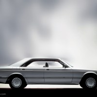 Design classics (2) - the Mercedes W126 coupe