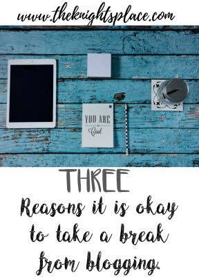 THREE REASONS TO TAKE A BEAK
