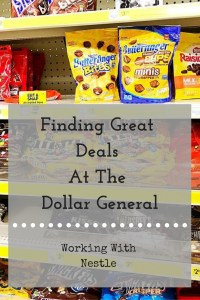 Finding Great Deals At The Dollar General