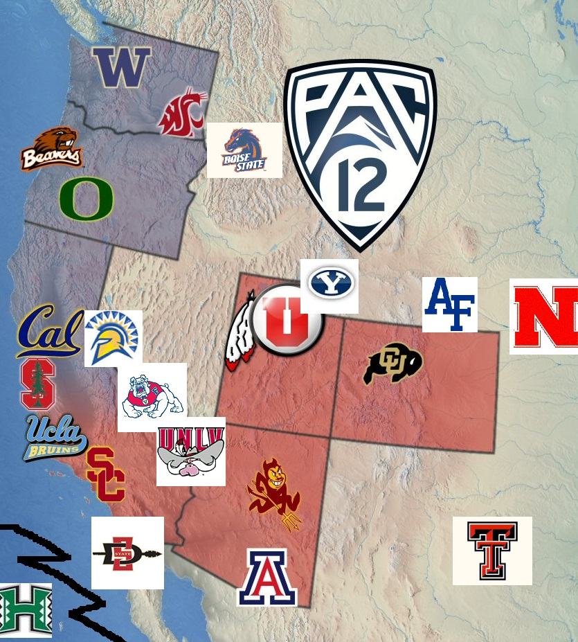 Thoughts On Pac 12 Expansion The Bayou Blogger