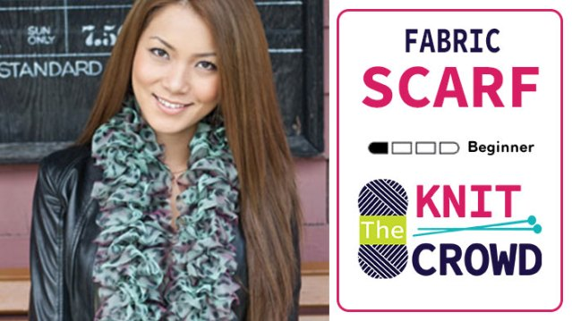 Knit Fabric Scarf