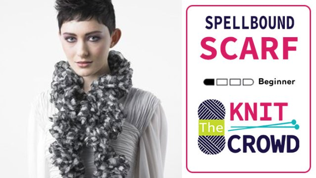 Knit Spell Bound Scarf