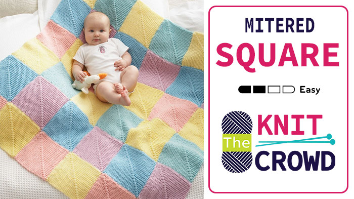 Understanding The Knit Miter Squares Calculator The Knit Crowd
