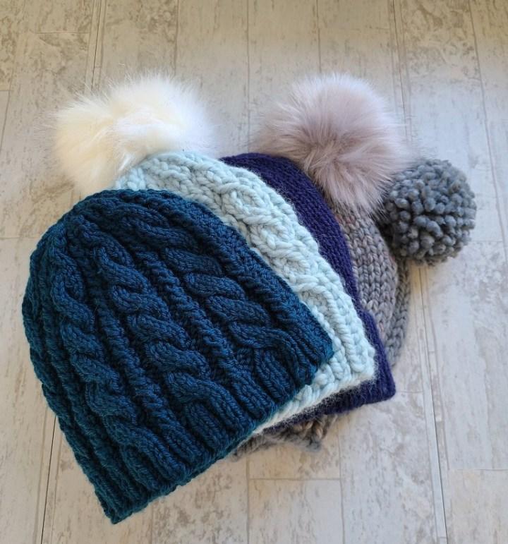 Community Knitting: Free Hat Patterns