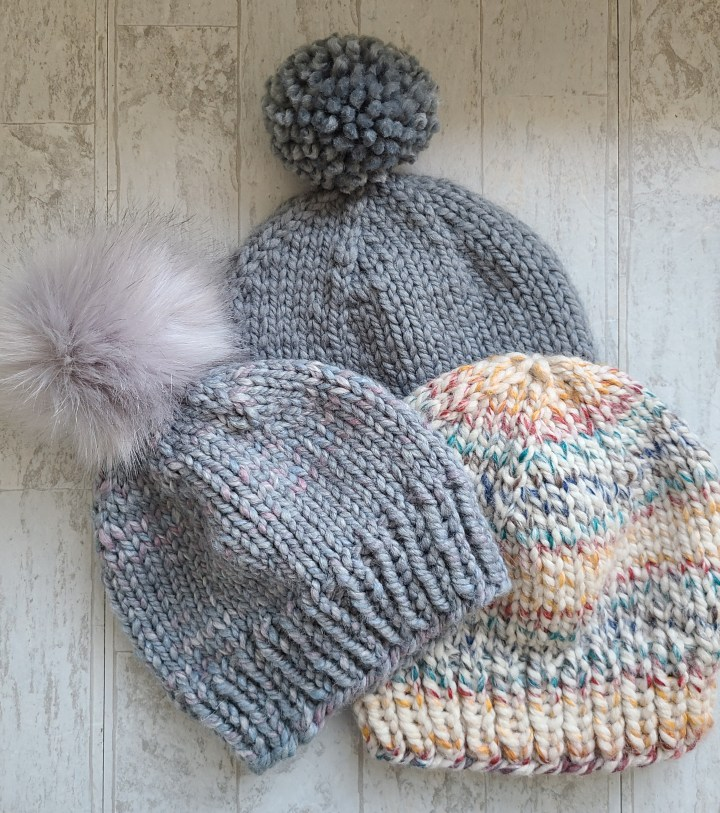 Super Simple, Super Bulky Knit Hat