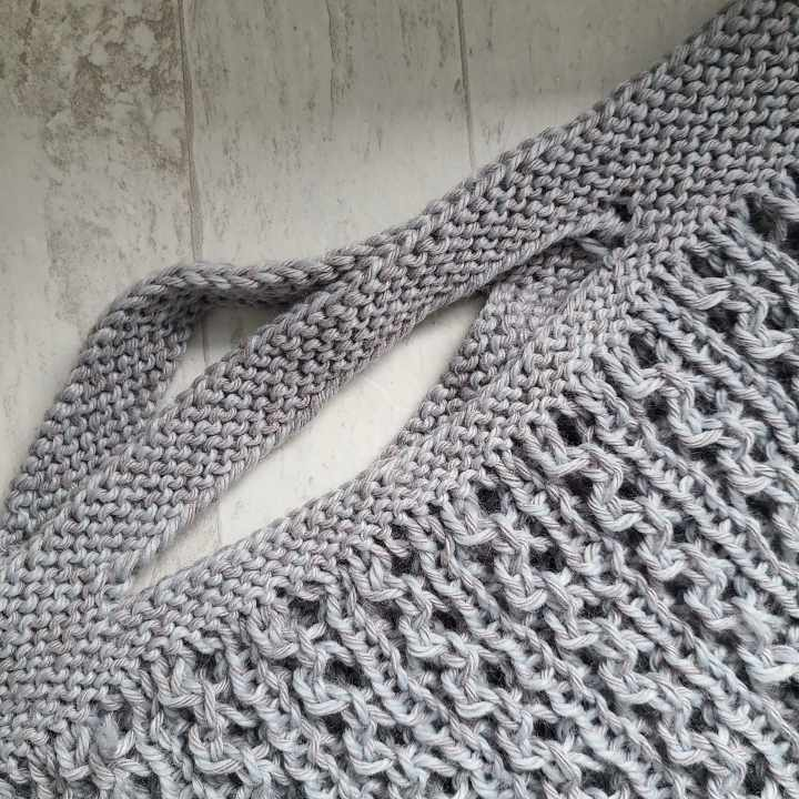 The Knit McKinley Podcast Episode 3: Cotton Yarns & Farmers Market Tote
