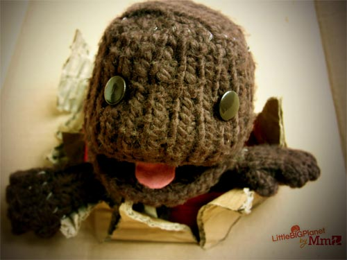 New Year, New Knitted Sackboy! (2/6)