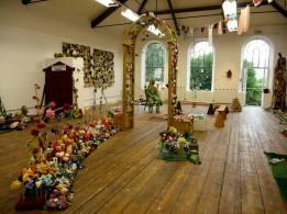 The Knitted Garden Exhibit