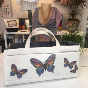 Butterfly Project Bag
