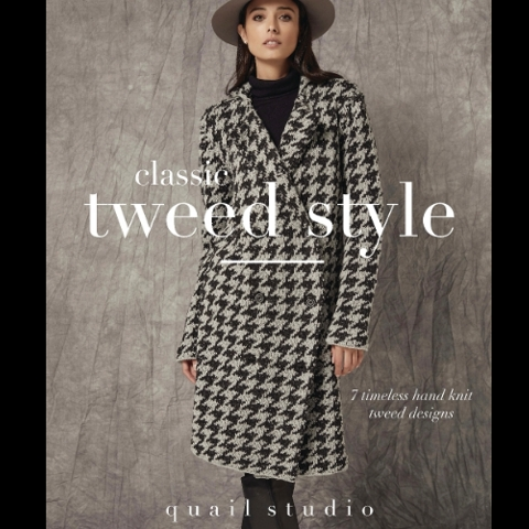 Classic Tweed Style by Quail Studio