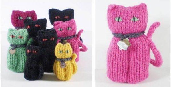 free cat knitting patterns # 16