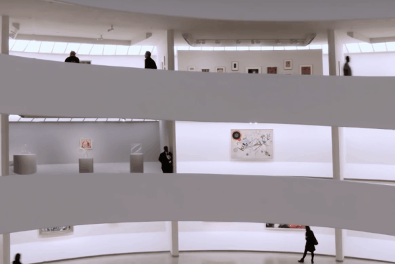 Lavazza Presents A Coffee Shop and Visionaries exhibit at The Guggenheim