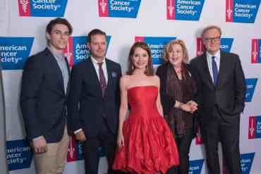Jean Shafiroff, Brenda Vaccaro, Derek Klena, Clarke Thorell at Taste of Hope Comes to Broadway