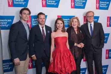Jean Shafiroff, Brenda Vaccaro, Derek Klena, Clarke Thorell at Taste of Hope Comes to Broadway