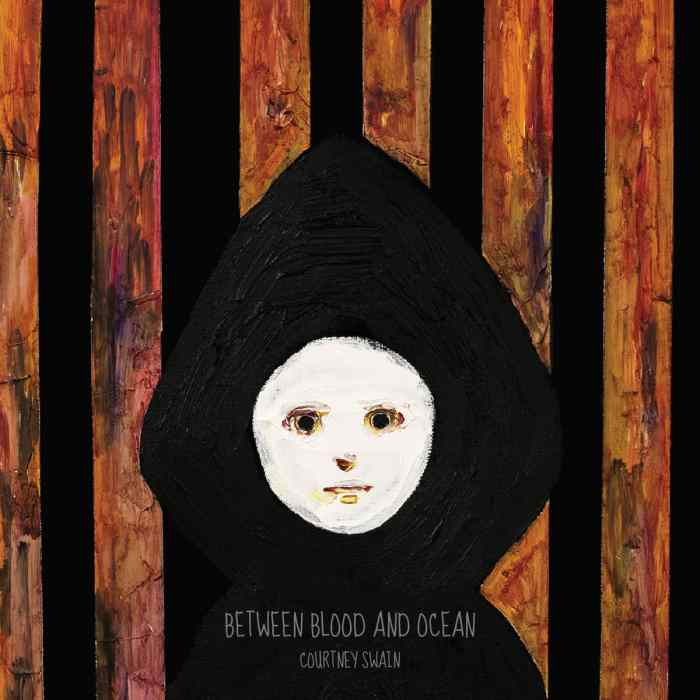 Between Blood and Ocean album cover art of a hooded girl