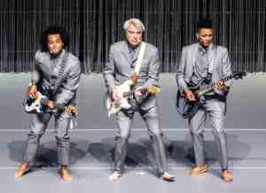 Mandatory Credit: Photo by Shutterstock (9939826j)<br /> David Byrne at Leeds Arena on the first night of his American Utopia tour<br /> David Byrne in concert at First Direct Arena, Leeds, UK - 21 Oct 2018