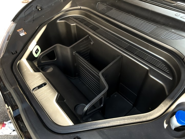 Front Trunk space in the 2021 Ford Mustang Mach-E