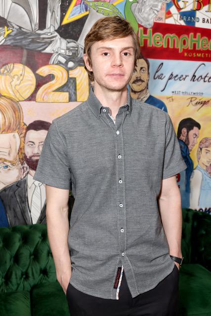 Emmy Winner Evan Peters (Mare of Easttown)