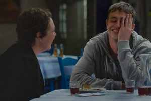 Olivia Colman and Paul Mescal in The Lost Daughter