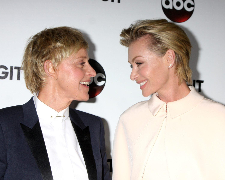 Ellen DeGeneres, Portia De Rossi Mark 9-Year Wedding