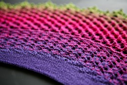 Dragonfruit Shawl by KnotTheorist on Ravelry