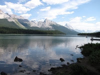 Maligne Lake picture