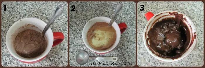 3-minute brownie recipe