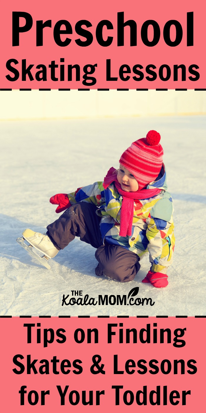 Preschool Skating Lessons: Tips for finding skates and lessons for your toddler