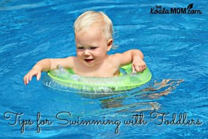 Tips for Swimming with Babies and Toddlers