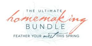 2014 Ultimate Homemaking Bundle is HERE!