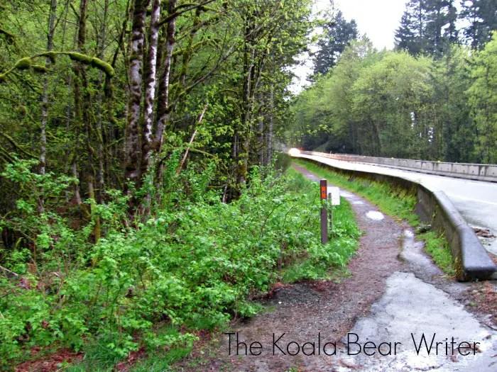 start the train trestle tunnel hike here
