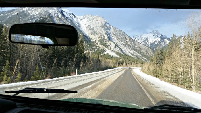 Driving through the mountains (listening to funny things kids say on road trips)