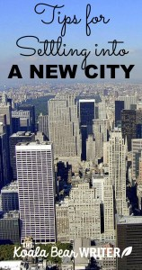 Tips for Settling into a New City